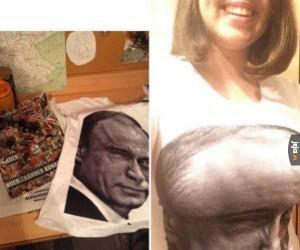 Putinowa koszulka