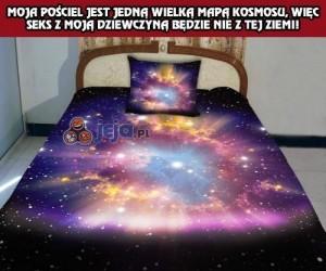 Kosmiczne łóżko