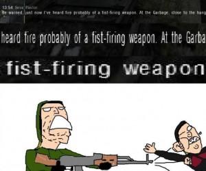 Ciekawa broń
