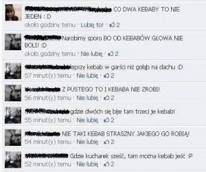 Kebab na Facebooku