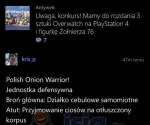 Polish Onion Warrior