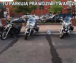 Tu parkują prawdziwi twardziele