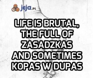 Brutalna prawda o życiu