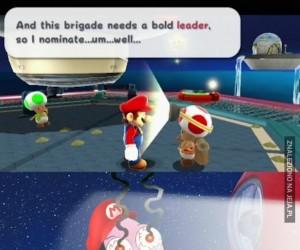 Toad, co ty robisz? Toad, przestań!
