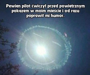 Miła niespodzianka od pilota