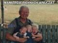 Mam troje pięknych wnucząt