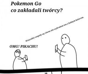 Trochę spóźniony komiks o Pokemon Go