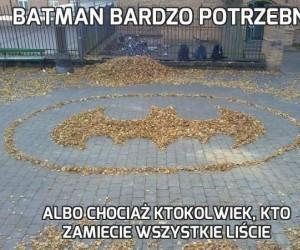 Batman bardzo potrzebny