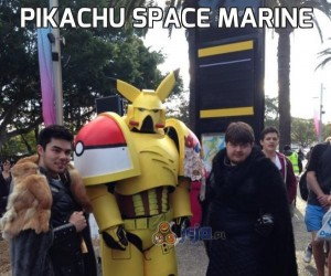 Pikachu Space Marine