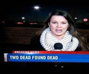 Dwóch martwych znaleziono martwych