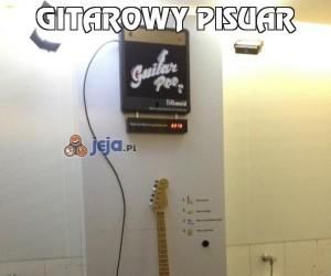 Gitarowy pisuar