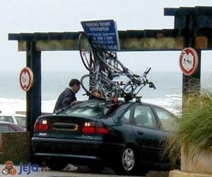 Rowery na dachu
