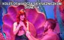Koleś oświadcza się księżniczkom Disney'a