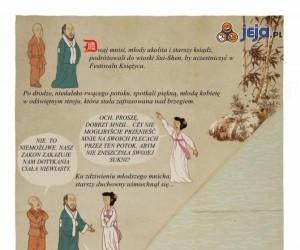 Opowieść o dwóch mnichach i kobiecie