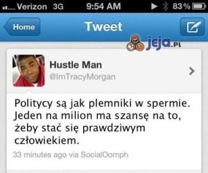 Politycy w jednym Tweecie