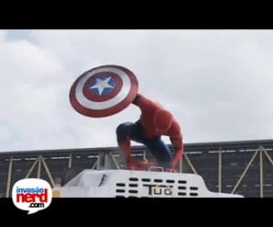 Reakcja na Spidermana w trailerze Civil War
