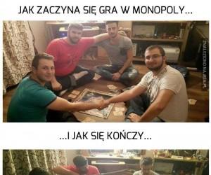 Monopoly z przyjaciółmi