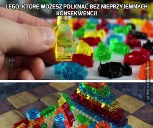 Lego, które możesz połknąć bez nieprzyjemnych konsekwencji