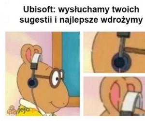 Ubisoft śmieszki