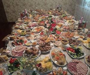 Standardowy obiad u babci