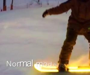 Japoński snowboard