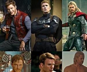 Chrisowie z Marvela