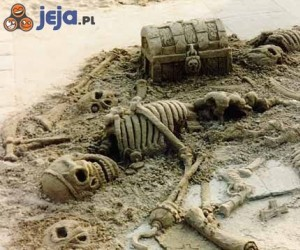 Szkielety z piasku