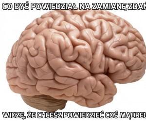Mózgu...