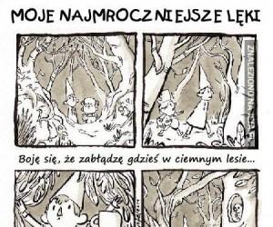 Moje najmroczniejsze lęki: Ciemny las