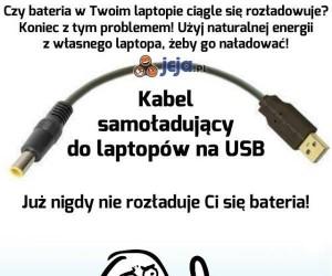 Sposób na rozładowaną baterię w laptopie