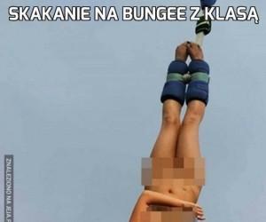 Skakanie na bungee z klasą