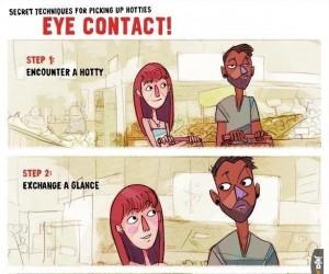 Kontakt wzrokowy
