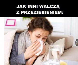 Walka z przeziębieniem