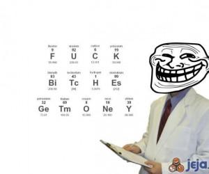 Trollujący chemik
