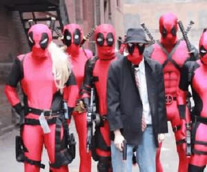 Strzelanina Deadpoolów