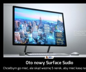 Oto nowy Surface Sudio