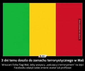 3 dni temu doszło do zamachu terrorystycznego w Mali