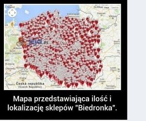 Biedronka przejmuje Polskę