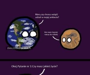 Woda na Marsie - historia prawdziwa