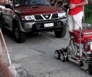 Zdalnie sterowana ciężarówka