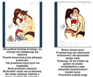 Otyłość: u faceta vs u kobiety