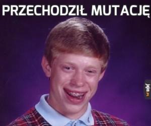 Przechodził mutację
