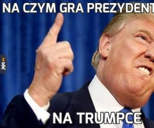 Na czym gra prezydent USA?