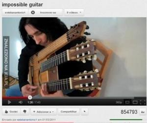 Snape z gitarą