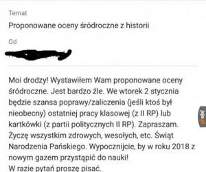 Miły pan od historii