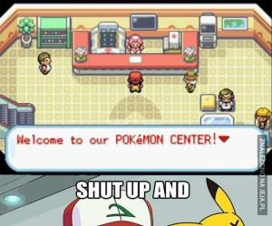 Za każdym razem w Centrum Pokemon