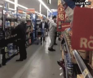 Trollowanie w sklepie
