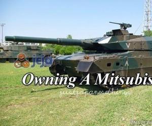 Posiadać Mitsubishi...