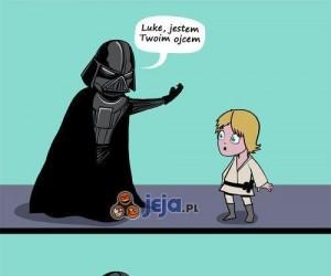 Luke nie chciał, Bruce skorzysta