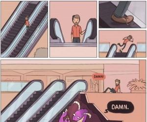 Sekret ruchomych schodów